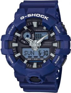 Casio Shock blauw GA-700-2AER