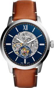 Fossil horloge heren automatisch skeleton