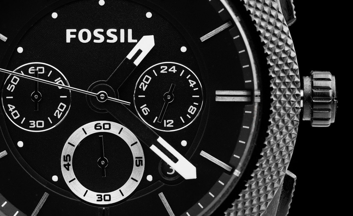 Fossil horloge heren