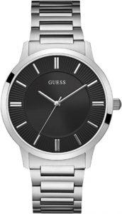 Guess horloge heren zilver W1073G1