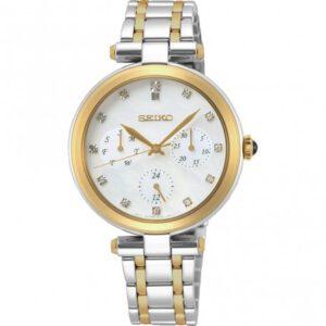 Seiko horloge dames bicolor goud zilver Seiko horloge dames bicolor SKY660P1