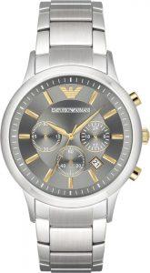Emporio Armani horloge heren zilver AR11047