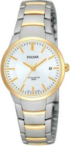 Pulsar horloge dames goud zilver PH7128X1