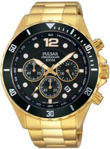 Pulsar horloge heren goud PT3720X1