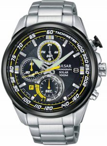 Pulsar horloge heren solar PZ6003X1