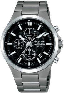 Pulsar horloge heren titanium PM3111X1