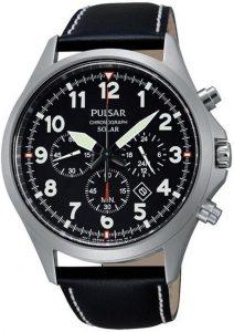 Pulsar horloge heren zwart PX5007X1