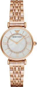 Armani horloge dames rose AR1909