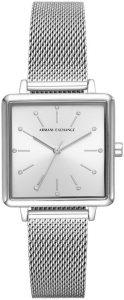 Armani horloge dames zilver AX5800