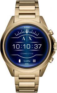 Armani smartwatch dames heren goud AXT2001