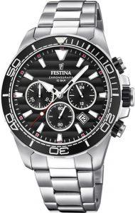 Festina horloge heren zilver F20361-4