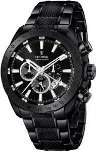 Festina horloge heren zwart F16889-1
