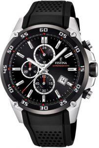 Festina horloge heren zwart F20330-5