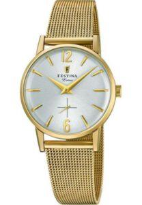 Festina horloge dames goud