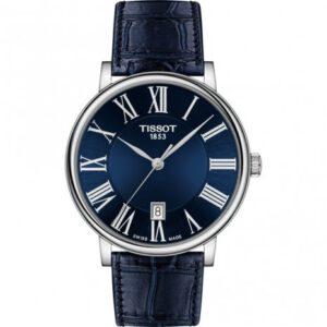Tissot horloge heren blauw T-Classic T1224101604300