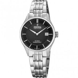 festina horloge dames zilver