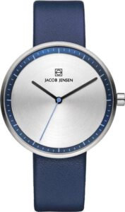 Jacob Jensen horloge dames blauw saffierglas 282