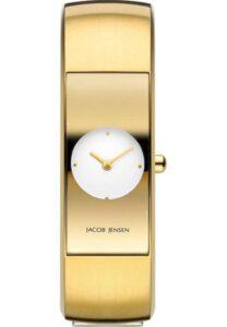 Jacob Jensen horloge dames goud