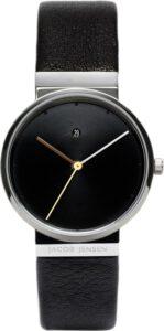 Jacob Jensen horloge dames saffierglas zwart 852