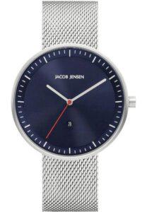 Jacob Jensen horloge heren zilver 279