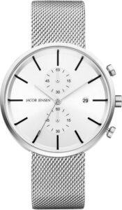 Jacob Jensen horloge heren zilver 625