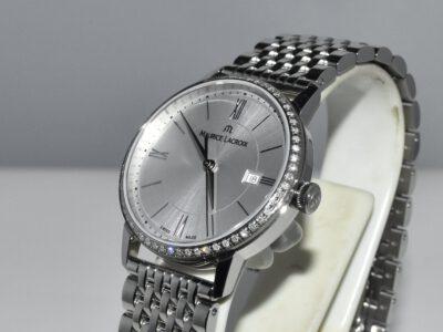 saffierglas horloge