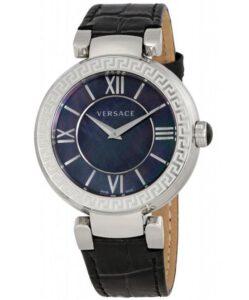 Versace horloge heren safierglas VNC180017