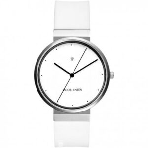 jacob-jensen-horloge wit 754