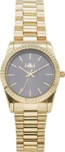 Ikki horloge dames goud grijs