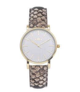 Ikki horloge dames goud python