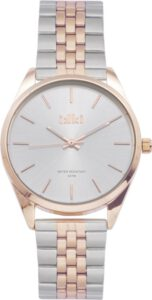 Ikki horloge zilver rose Jacky JCK03