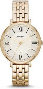 Fossil horloge dames goud