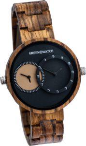Greenwatch houten horloge heren dames