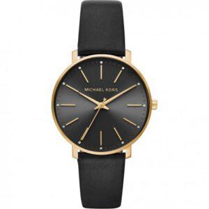 Michael Kors horloge dames zwart pyper