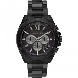 Michael Kors horloge heren zwart Brecken