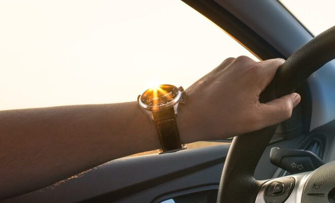 Solar horloge heren