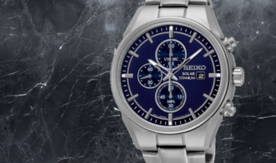 Titanium horloge heren