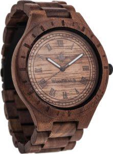 Woodwatch houten horloge heren