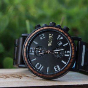 Woodzstyle houten horloge heren