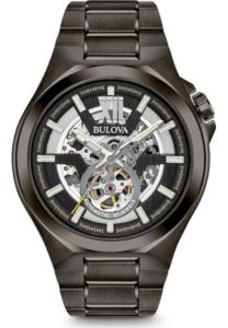 Bulova Classic zwart skeleton