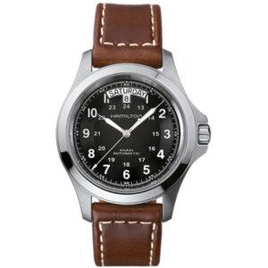 Automatisch horloge heren Hamilton Khaki
