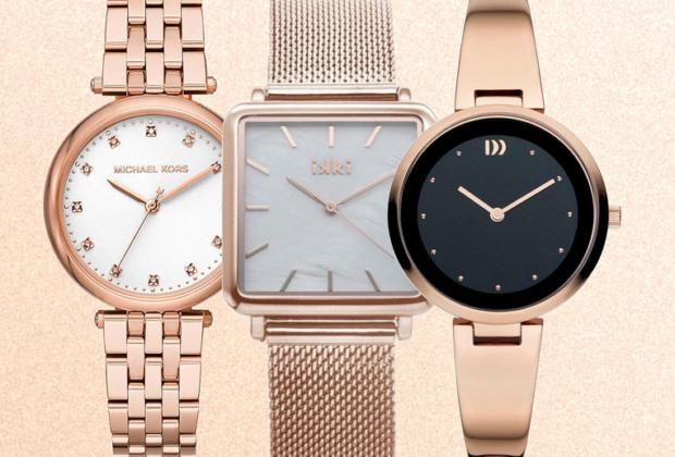 Horloge dames rose