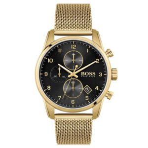 Hugo Boss horloge heren goud HB1513838