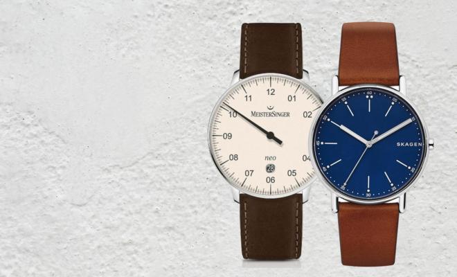 Minimalistisch horloge heren