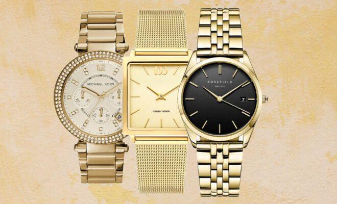 horloge dames goud
