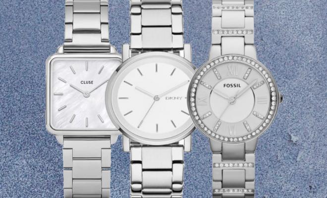 horloge dames zilver