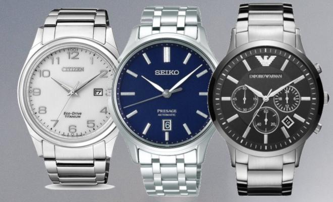 horloge heren zilver