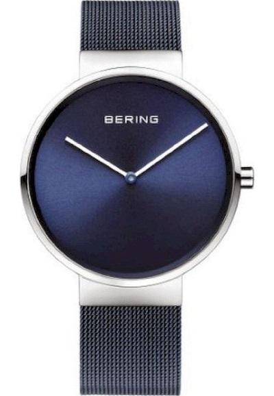 Bering horloge dames blauw