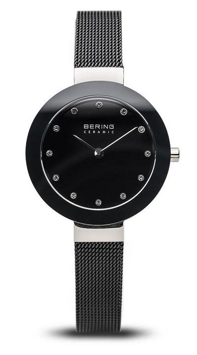 Bering horloge dames zwart 11429-102