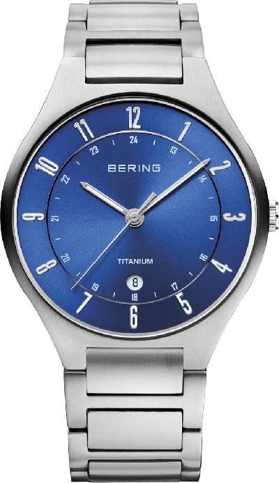 Bering horloge heren titanium
